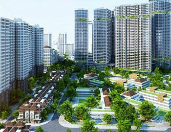 Dự án khu đô thị thu hút nhà đầu tư